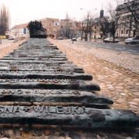 Warsaw, ポーランド:ワルシャワ:東方連行慰霊碑 [2004/03]