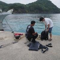 8月18日(日)PADIオープンウォーター海洋講習!そしてNew ダイブマスター誕生!!