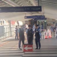 G20警備で厳戒体制の大阪南港咲洲庁舎