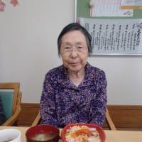 母の日のお祝い