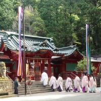 夏祭り最終日、8月6日神恩感謝の後宴祭を斎行致しました。