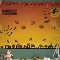 子供部屋 今回は、ハロウィン仕様にしました!