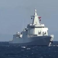 中共とロシアの艦隊 日本列島を周回するというかつてない航行を見せる