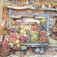 キムジャコブの果物屋 シャドーボックス