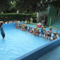 年長組 水遊びをしました!!