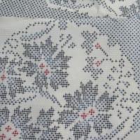 白大島袷 他店で落ちなかった黄変しみ しみ抜き 正絹素材