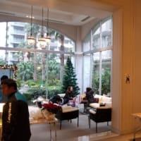 新浦安の大きなマンションクリスマス会