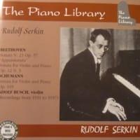 アドルフ・ブッシュとルドルフ・ゼルキンによるシューマンの奏鳴曲第壱番