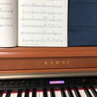 ピアノ練習!