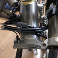 ブロンプトンS6E-Xのブレーキ&シフトケーブルのセッティングミス・・・