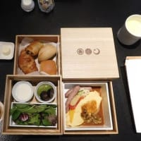 星のや東京 朝ご飯・・・ ♨