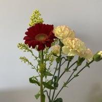 花を飾りました。