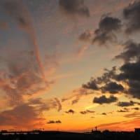 きょうの夕空(10月8日)