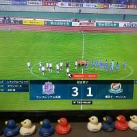 【J1】vs広島「長かった22連戦終了」@DAZN