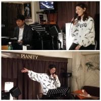 1月10日(金)はみぽりんモンロー(vo)さんのライブでした!
