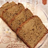 そば粉100%のパンを焼く