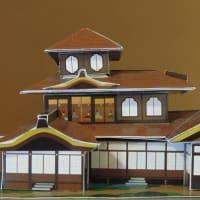 京都・本願寺 聚楽第の遺構と伝えられる 「国宝 飛雲閣(ひうんかく)」