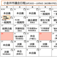 2021年第3回定例会(9月議会)が始まりました。