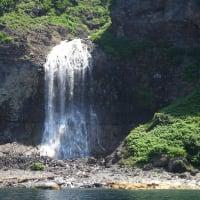 知床半島滝めぐり
