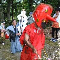 大西神社の鉦踊り