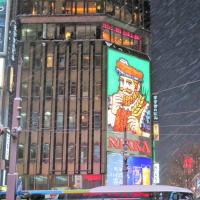 散策!札幌(57) 北の歓楽街「すすきの」で美しい氷像を拝見する