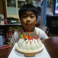 次男10歳のお誕生日