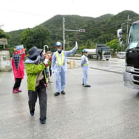 本部港塩川地区と安和の琉球セメント新桟橋での抗議行動