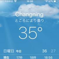 猛暑日と熱帯夜スタート!