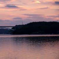 賢島の夕空模様