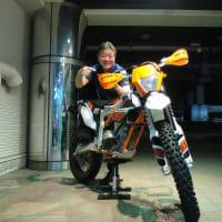 今、SEROW人気が爆発してる⁉チョッとチョッと!私を忘れちゃ困ります^_^ USED KTM FREERIDE 250F 入荷!