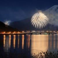 河口湖の花火大会