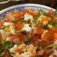 磯丸水産のバラチラシ丼