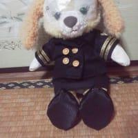 クッキーたんの 海上自衛隊のお洋服ができました