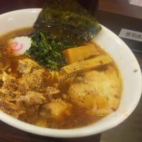 期間限定の生姜生姜醤油ラーメン