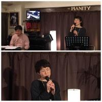 1月12日(日)の午後は、笠原幸恵(vo)さんのライブでした!