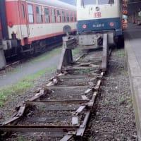 車止め オーストリア インスブルック駅