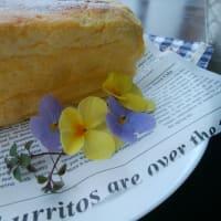 レモンのスフレヨーグルトケーキを焼いたのと、セブンイレブンの鍋。