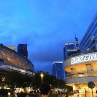 東海道本線はN700系を夕方の有楽町駅付近で撮影 (2019年8月 東京旅)