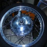 C72 (CA78)をCB92風スポーツタイプに改良 Fブレーキパネル製作編Part 8