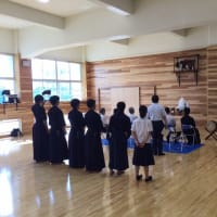 剣道場の神事
