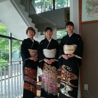 令和元年6月16日の出張着付は堺市東区、留袖の着付け3名様でした。