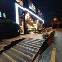 西釜山の夜景を一望 スムカフェ