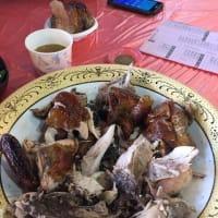 甕仔雞(地鶏の空焼き)を食べました!