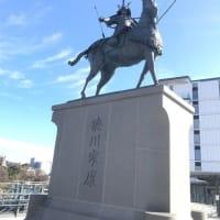 日本最大級の騎馬像 徳川家康公像