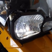 F800gs・ヘッドライトLED化