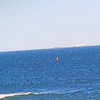 海上での船のスレ違い