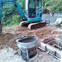 永明寺の永代供養墓の工事再開