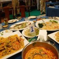 10月12日タイ3日目前夜祭の風景
