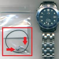 オメガ(OMEGA)シーマスター(Rif.2551-80)のオーバーホール・竜頭交換・ブレスピン交換・パッキン交換を承らせて頂きました