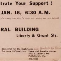 「ケント州立大学事件」ピッツバーグにおける反戦の歴史〜ハインツ歴史センター ベトナム戦争展